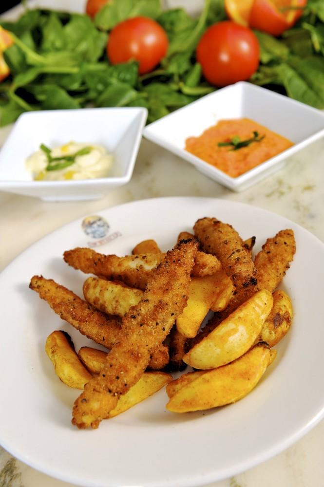 Polletto Milanese con Patate